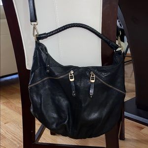 🚨genuine leather hobo crossbody 🚨